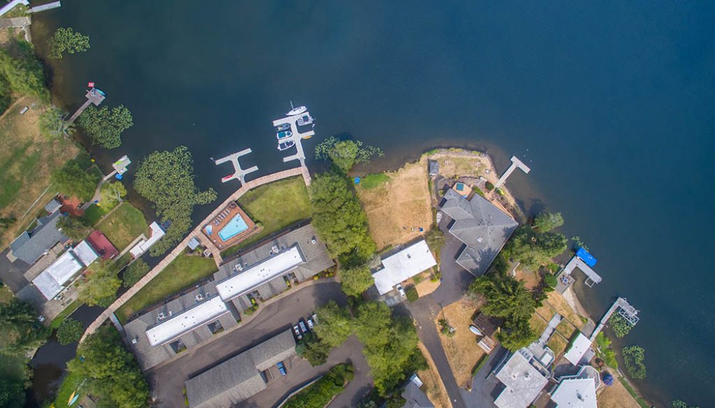 Real estate drone photography and video, Backlight Marketing Co